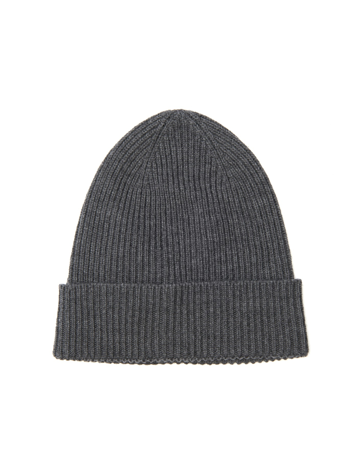 575f4938125 Moncler Ribbed-Knit Wool Beanie Hat in Gray for Men - Lyst