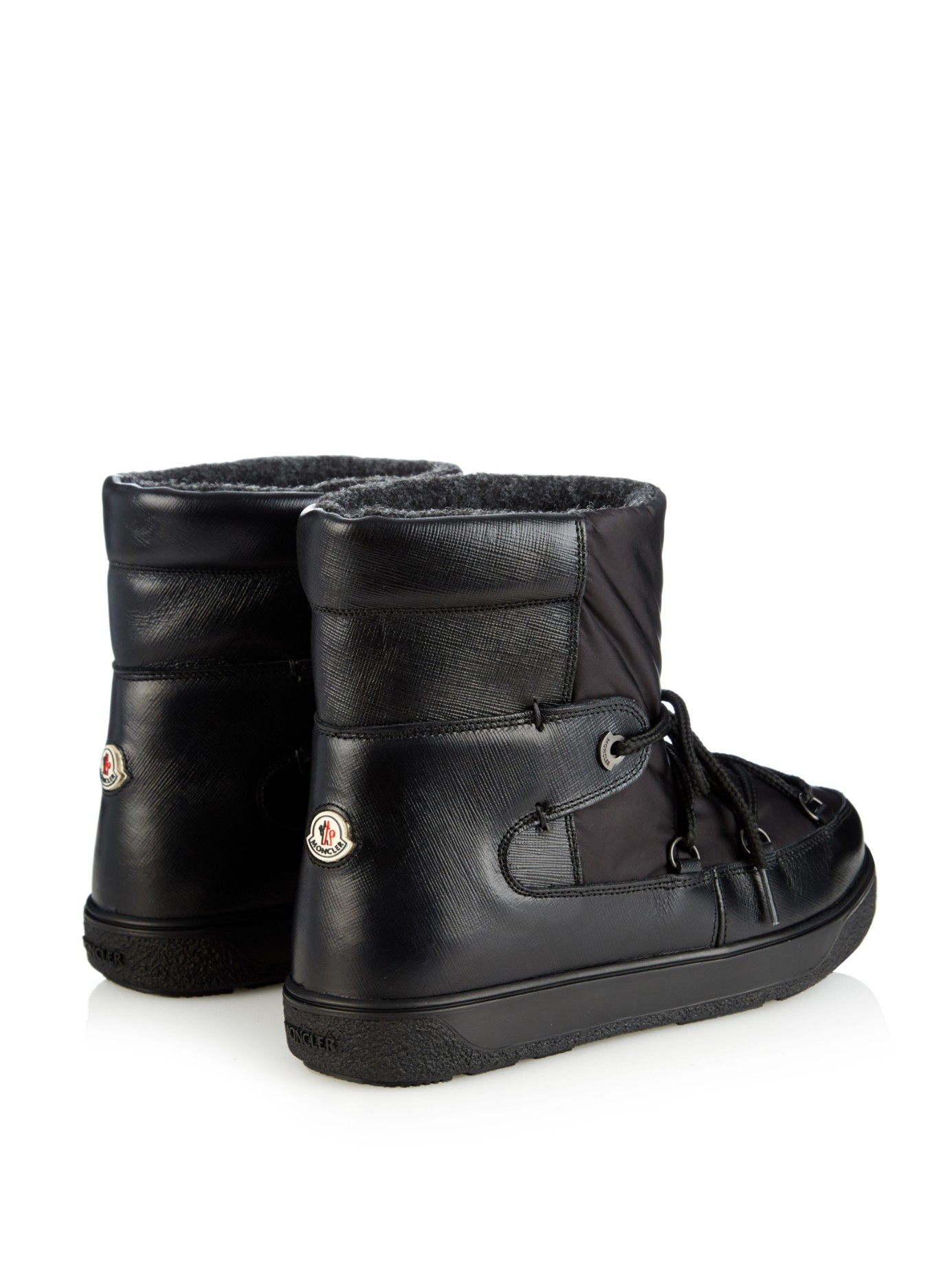 6591c9ab395a Boots Lyst Fanny Black Ski In Aprés Moncler qSqfR at sexuality.visa ...