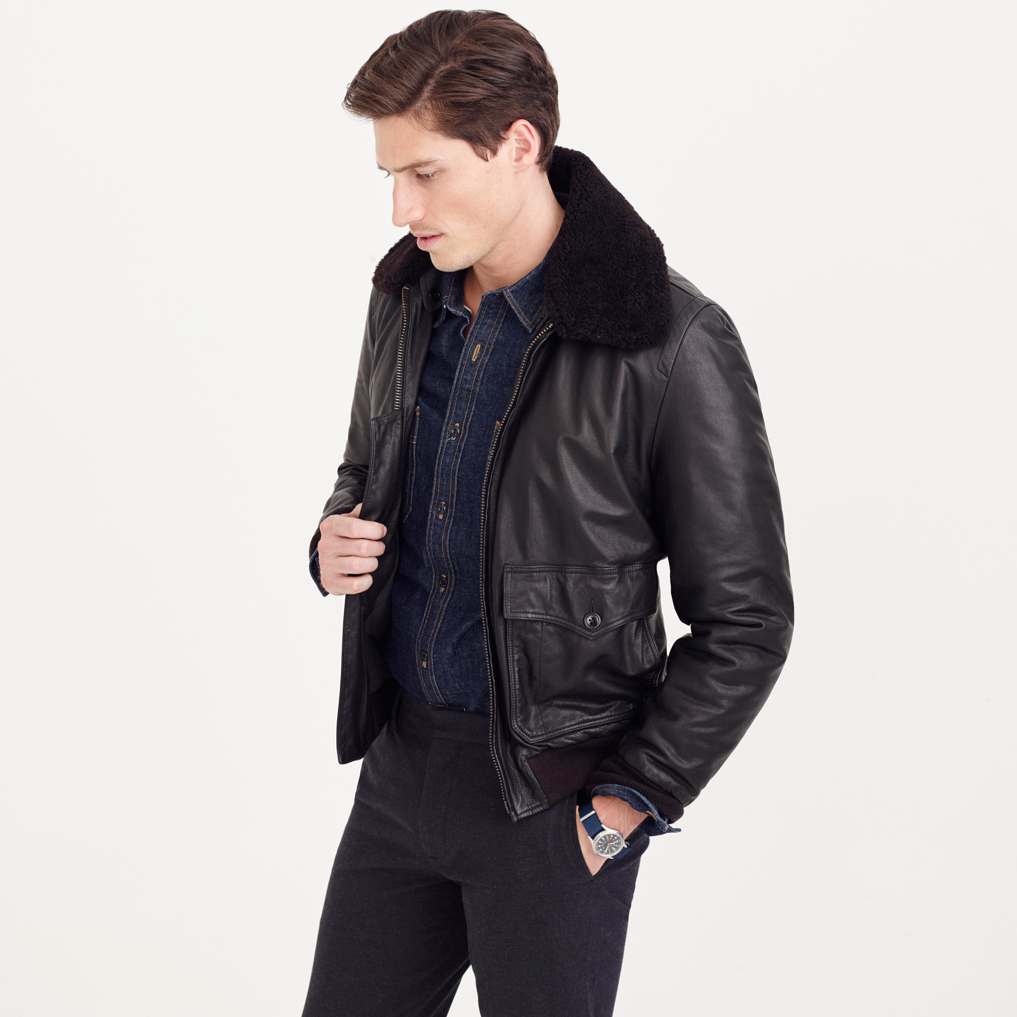 Coolest mens leather jackets