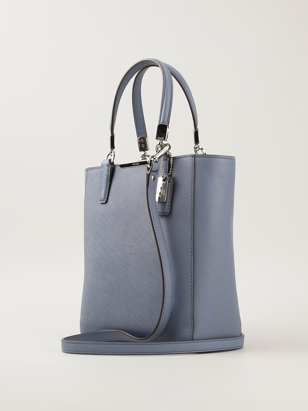 Mi Ni Clips: COACH Madison North West Mini Tote In Blue