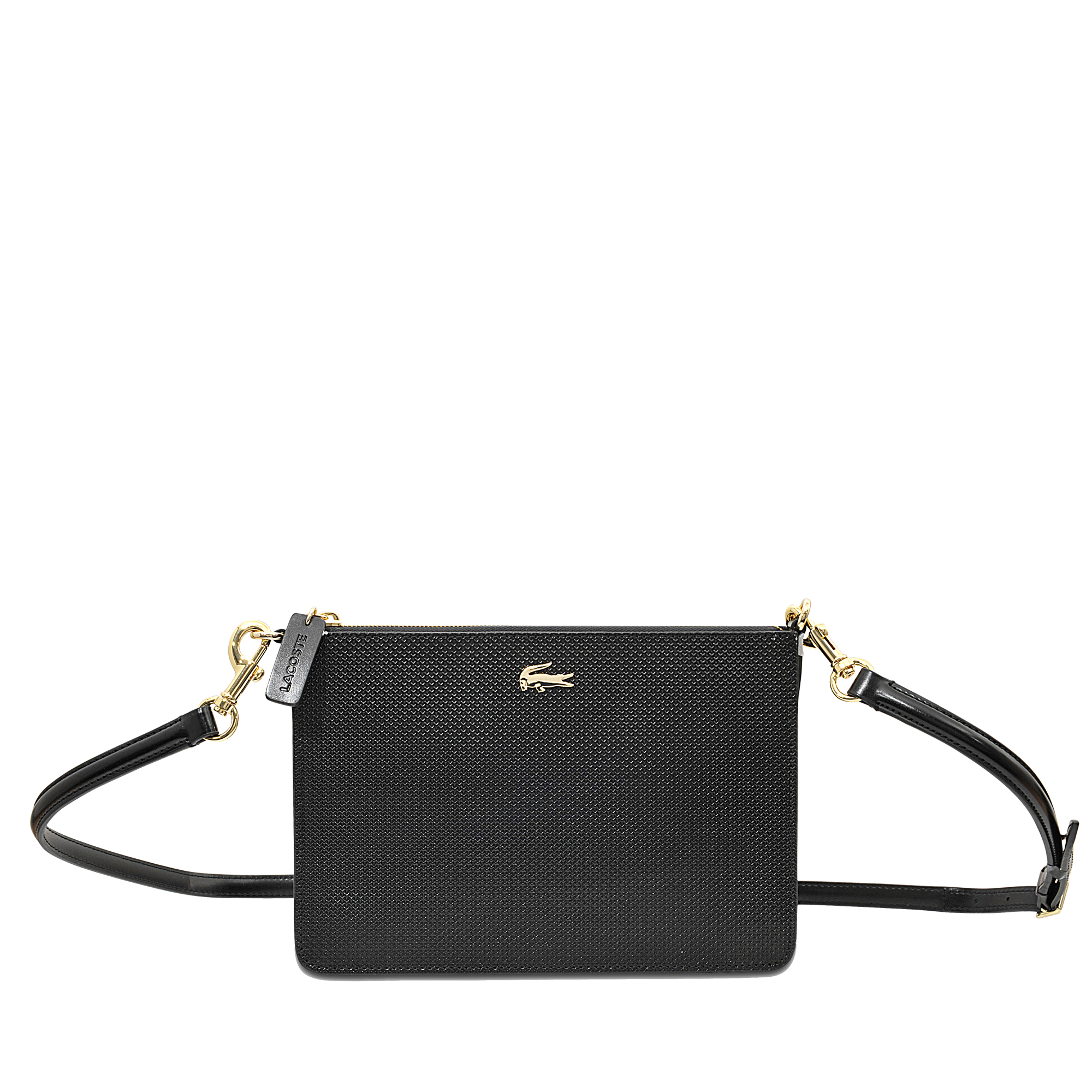 60108e63a893d1 Lyst - Lacoste Chantaco Zip Crossover Bag in Black