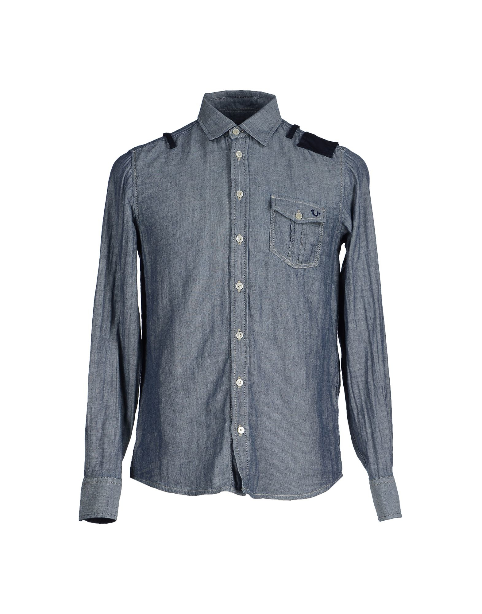true religion shirt in blue for men lyst