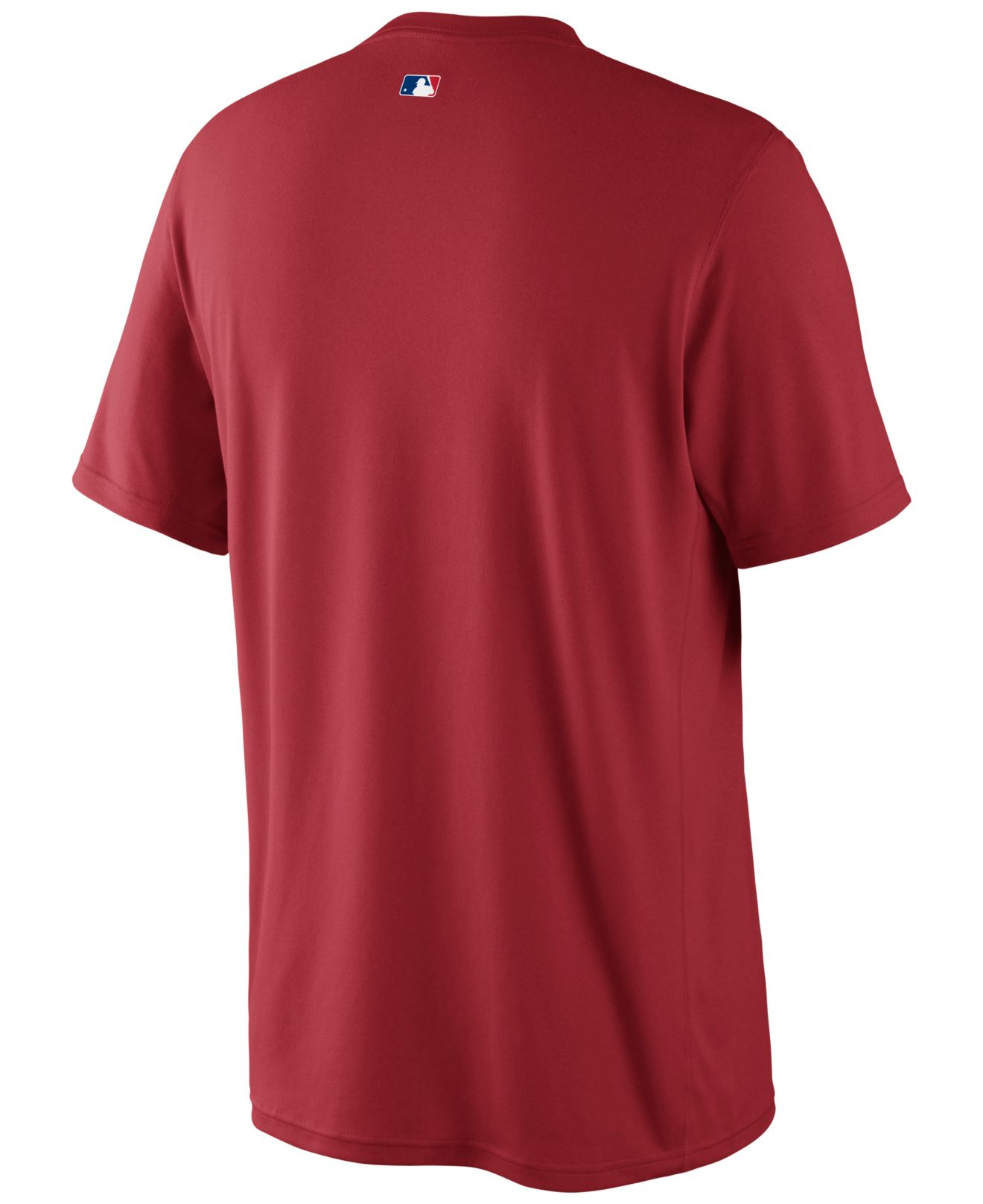 Nike Men 39 S Short Sleeve Dri Fit Philadelphia Phillies T