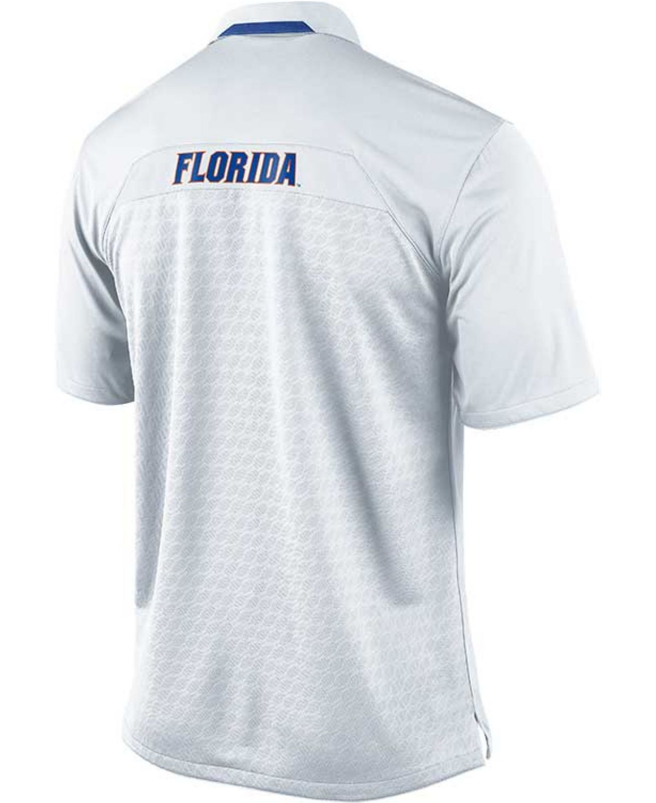 Lyst nike mens short sleeve florida gators coaches polo in white gallery sciox Images