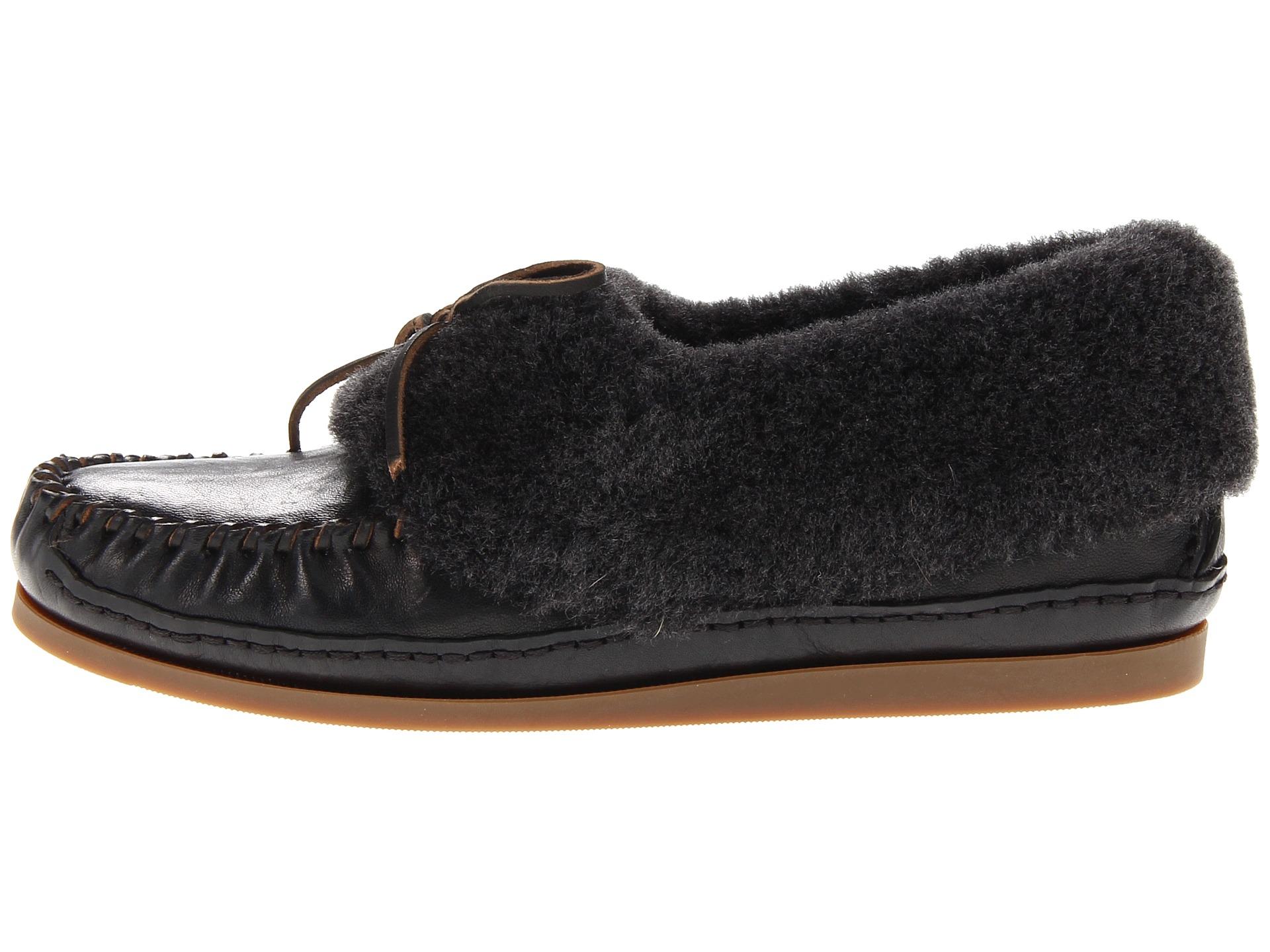 FRYE Black Slippers clearance authentic QgGP2Evb