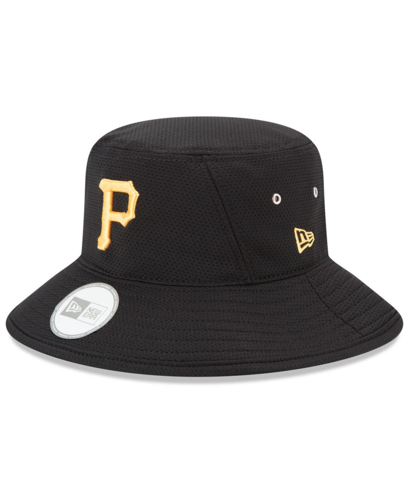 21c4fe1af6a coupon code lyst ktz pittsburgh pirates redux bucket hat in black 70308  fee3e