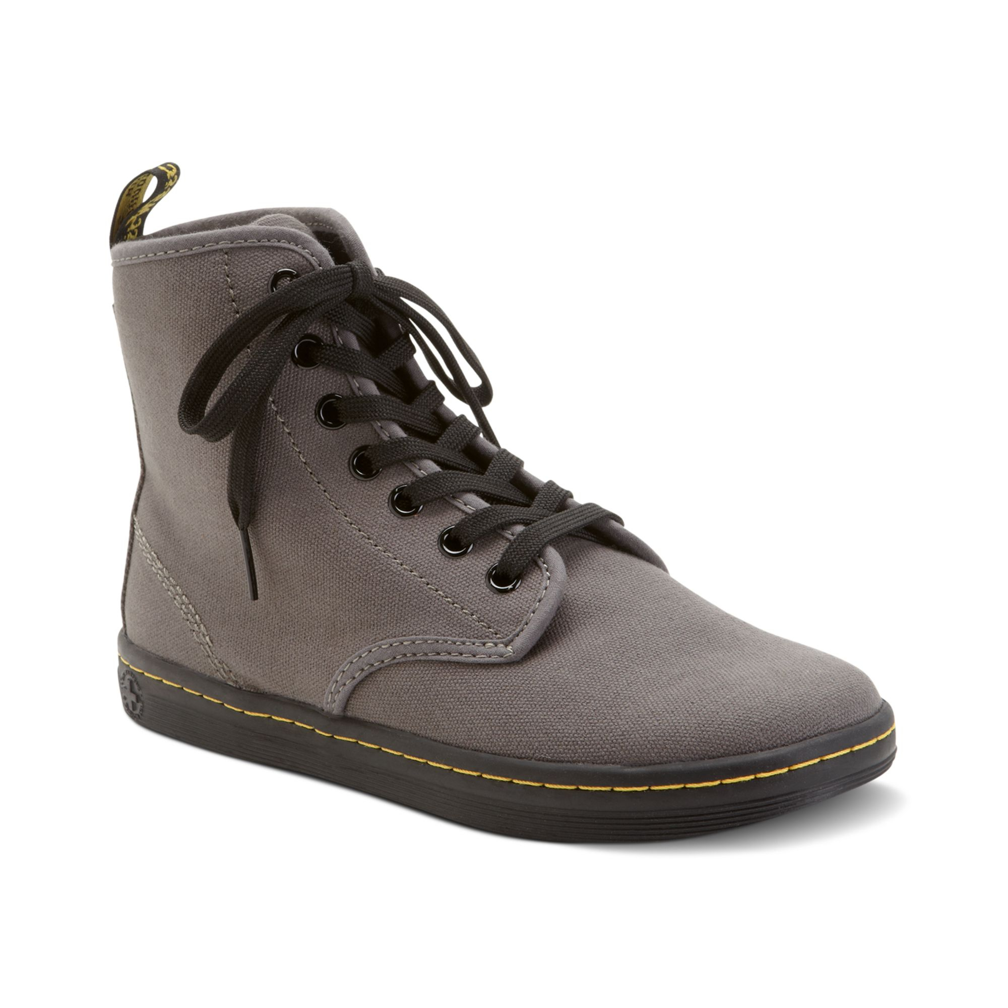 f793eb01ee8eb Lyst - Dr. Martens Shoreditch High Top Sneakers in Brown