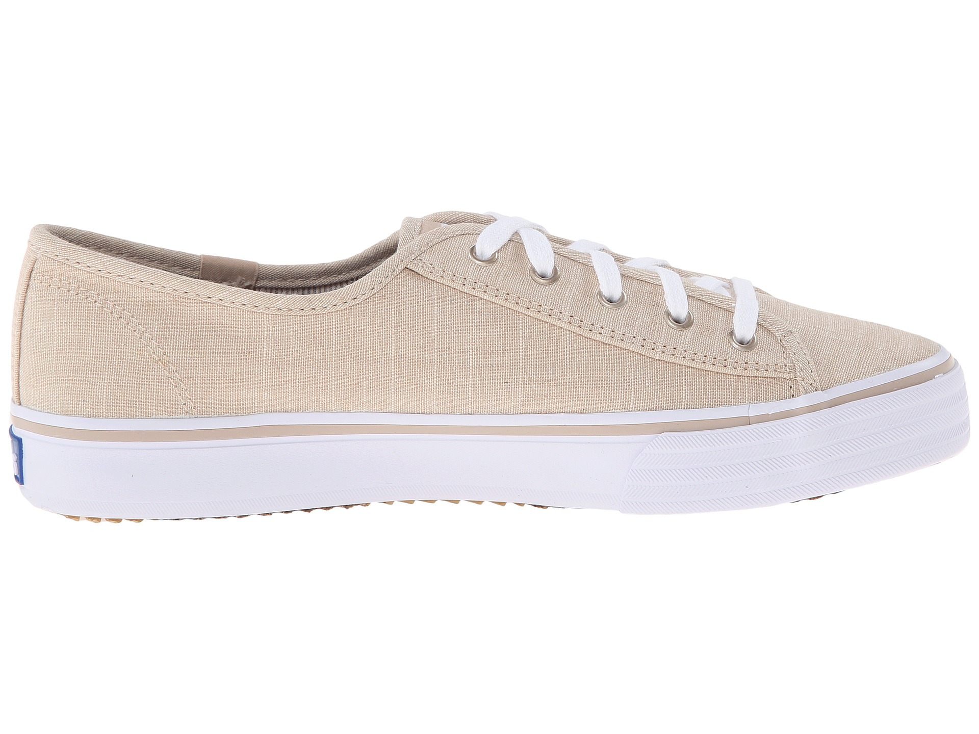 double up linen keds