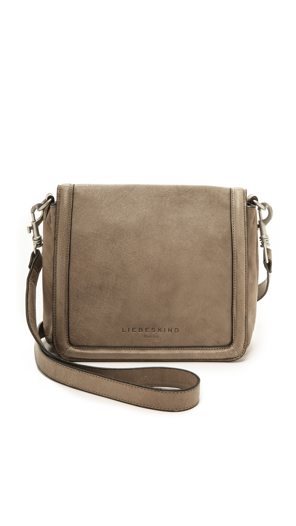 81ec5c6d7 Liebeskind Katelyn Cross Body Bag - French Grey in Natural - Lyst