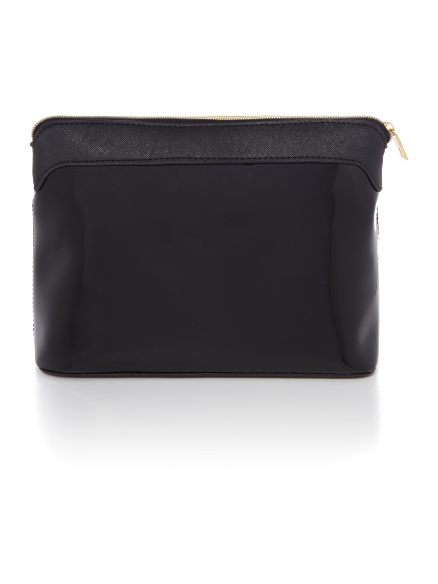 ted baker jesamy black large bow cosmetic bag in black lyst