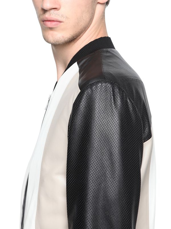 Iceberg leather jacket
