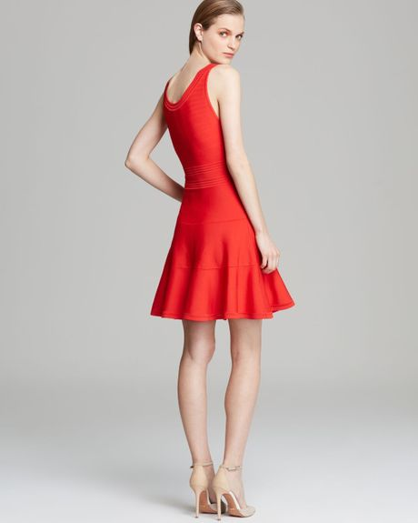Dvf Red Dress Diane Von Furstenberg