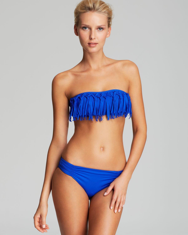 bandeau fringe bikinis - photo #10
