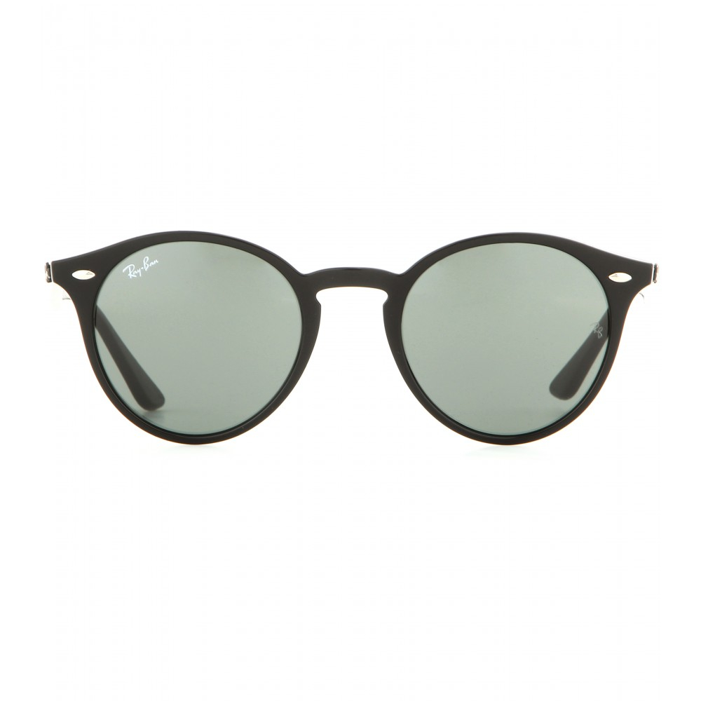 a617f52032 Ray-Ban Rb2180 Round Sunglasses in Green - Lyst