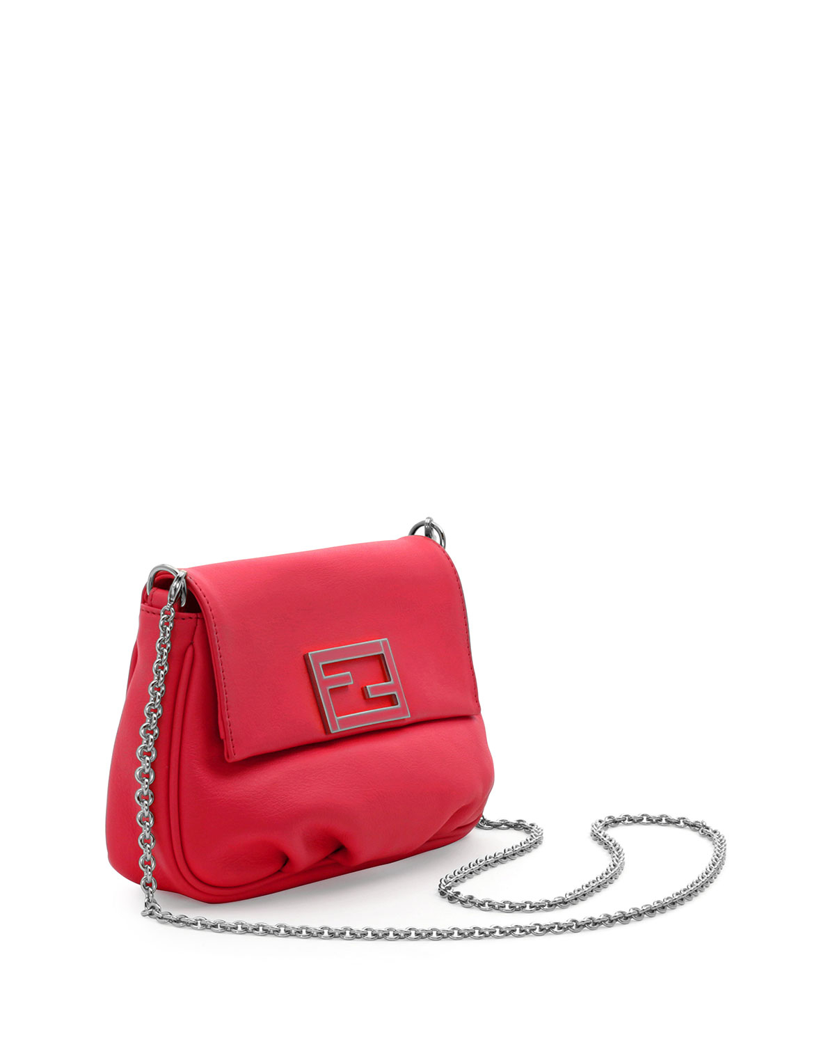 2aaea29838 Lyst - Fendi Sta Pochette Crossbody Bag in Red