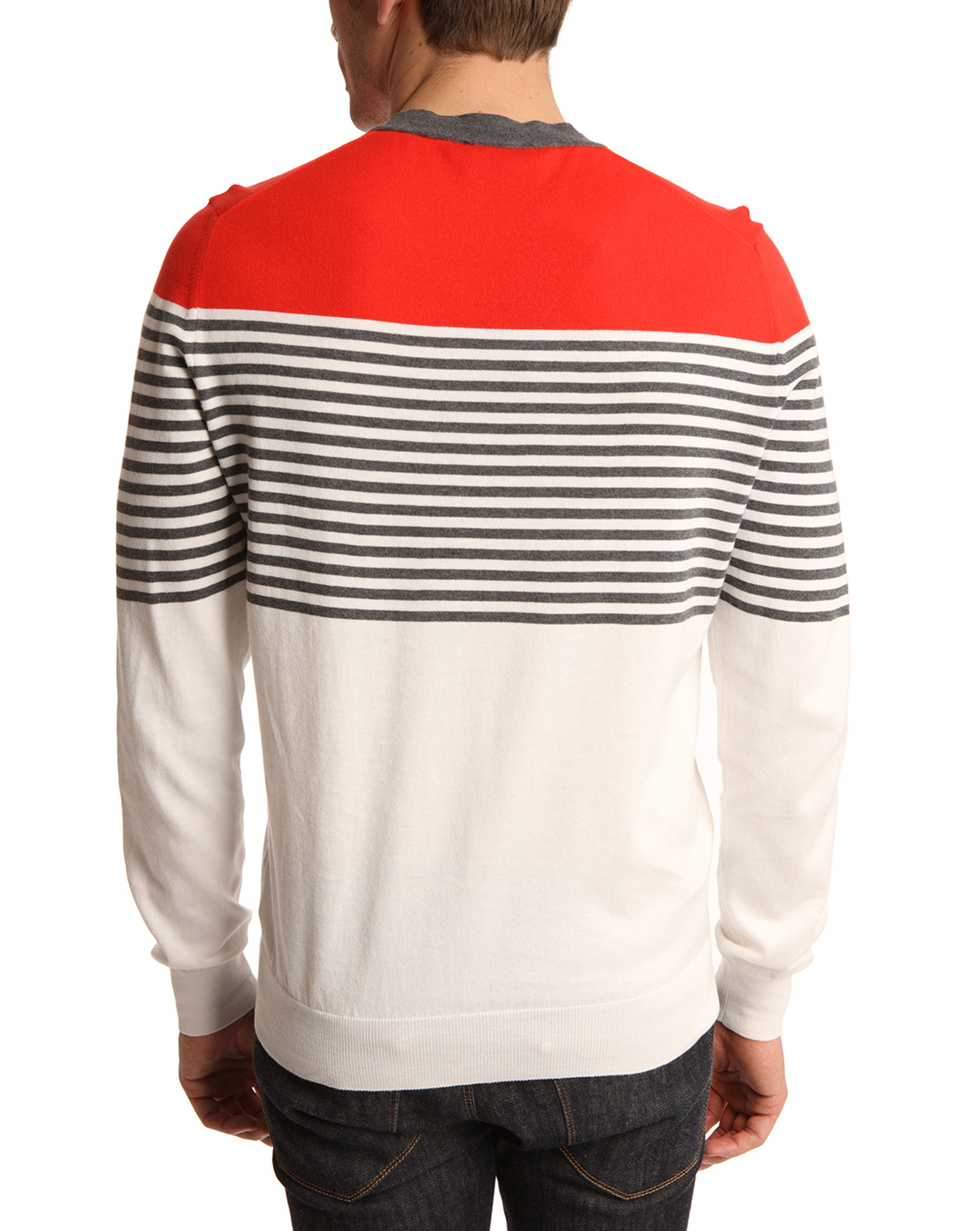 Buy low price, high quality v neck striped red white with worldwide shipping on pxtube.gq