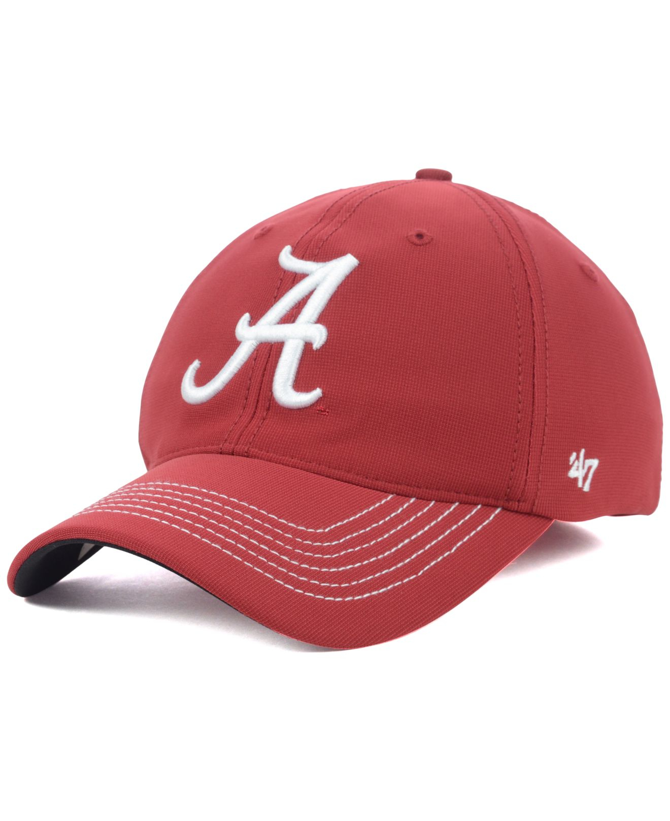 d6102556b48 ... clean up cap 8f504 47e2d  switzerland lyst 47 brand alabama crimson tide  game time closer cap in red for men 79c76