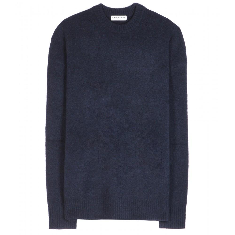 1fec5293164 Blue Balenciaga Sweater