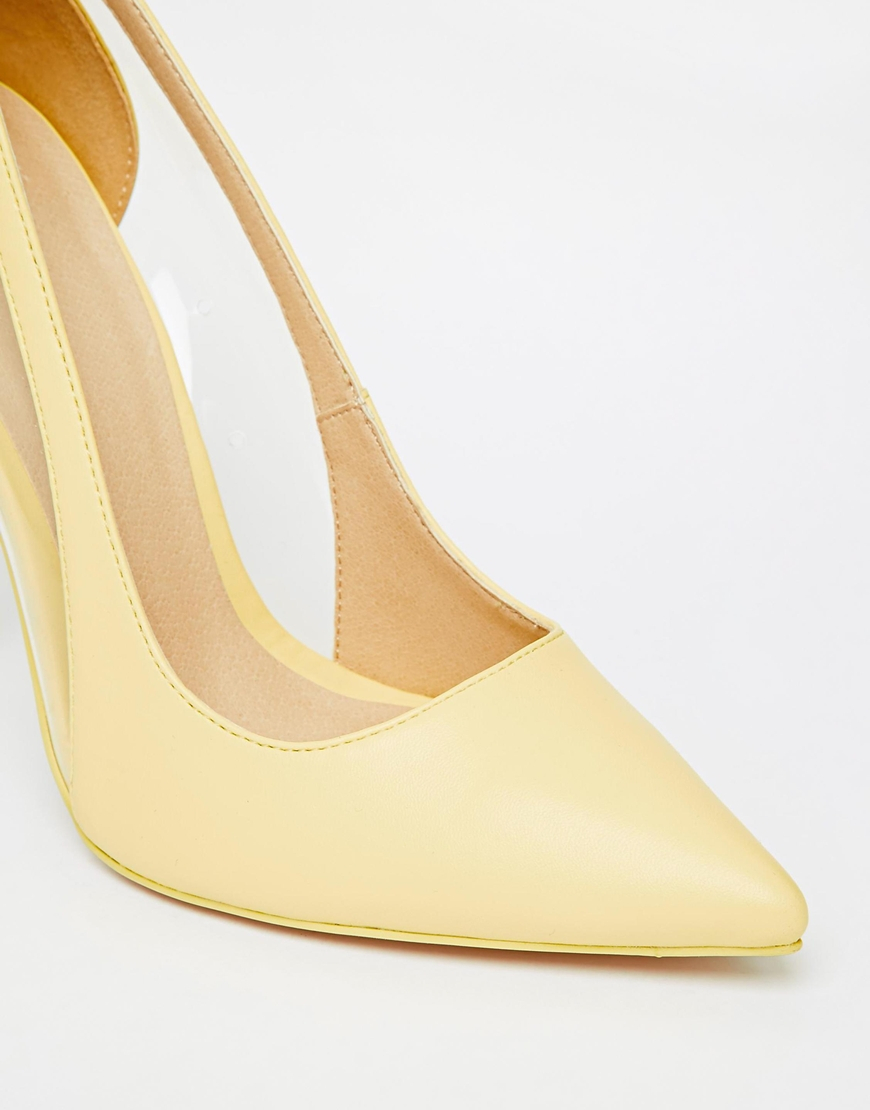 Pale Yellow Womens Shoes
