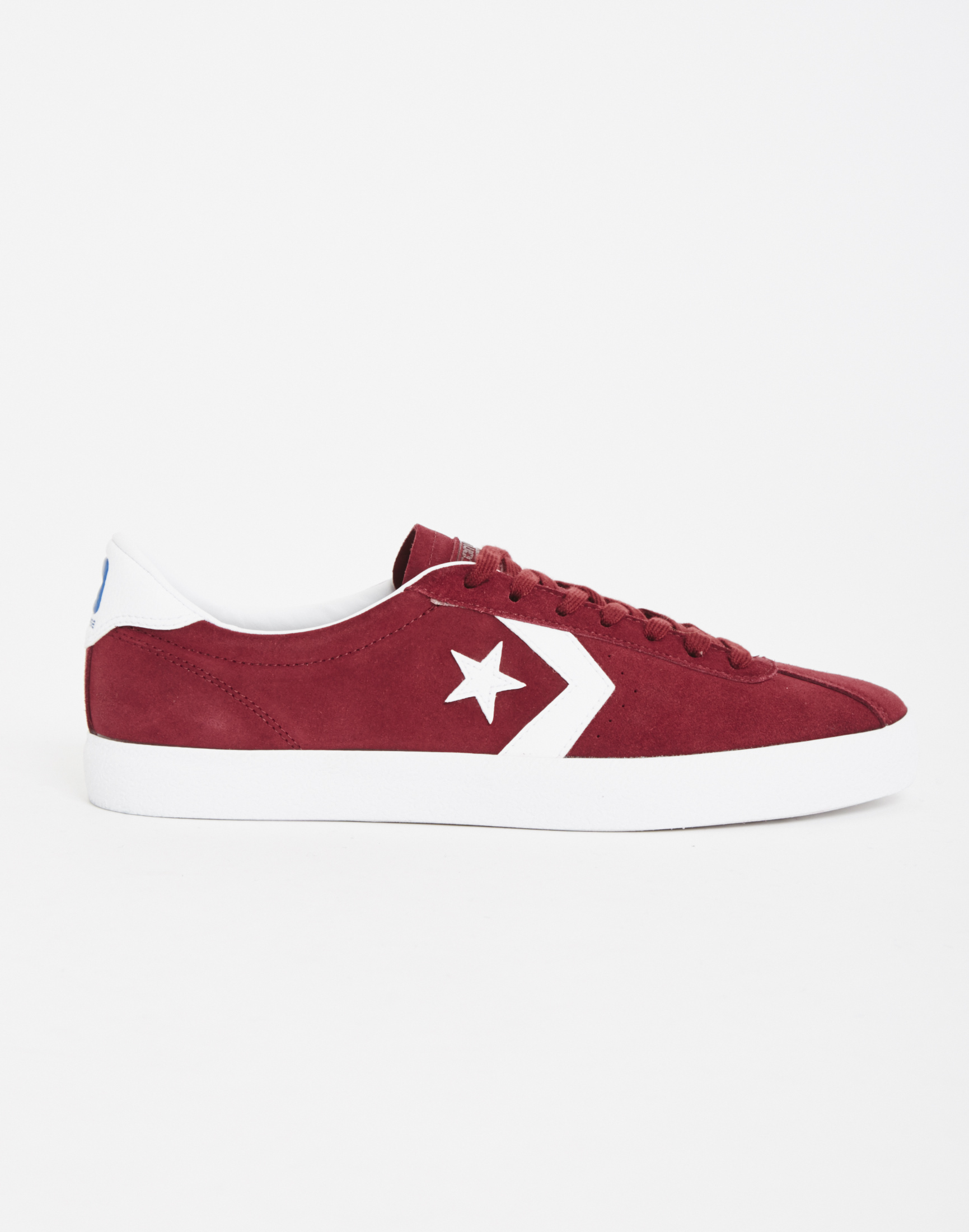converse trainers burgundy