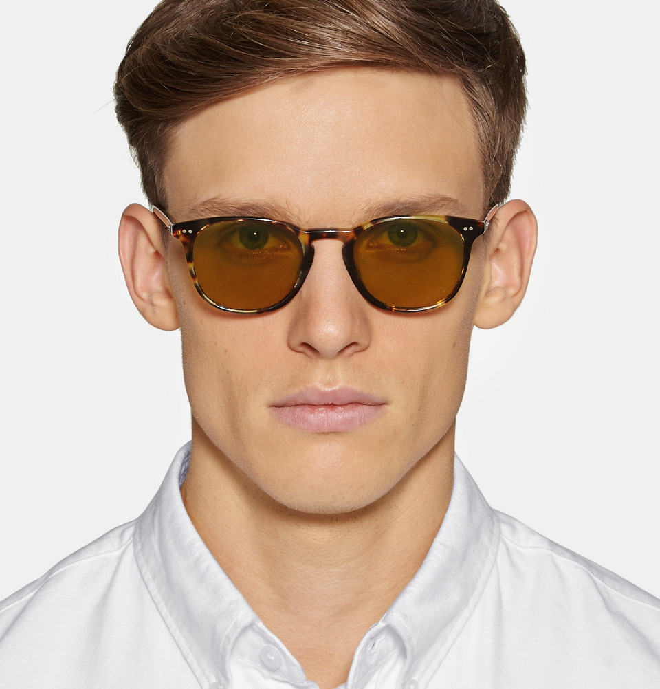 Lyst Oliver Peoples Sir Finley Tortoiseshell Acetate