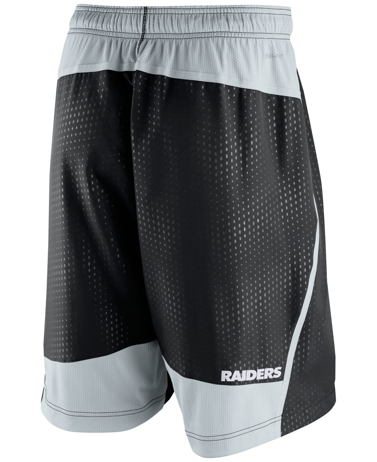 10d009c5 Nike Men's Oakland Raiders Dri-fit Fly Xl 3.0 Shorts in Black for ...