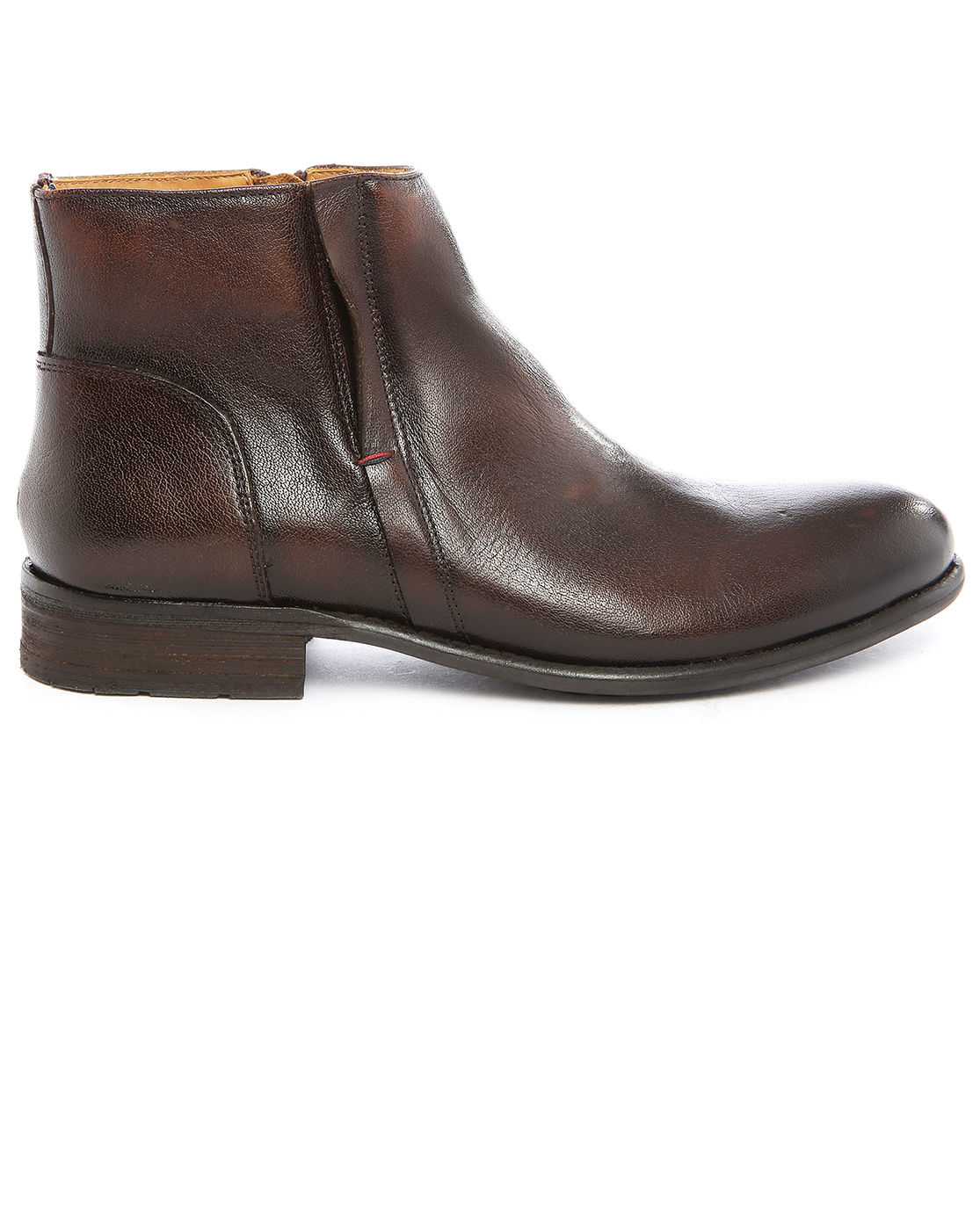 tommy hilfiger damon 3a leather ankle boots in brown for. Black Bedroom Furniture Sets. Home Design Ideas