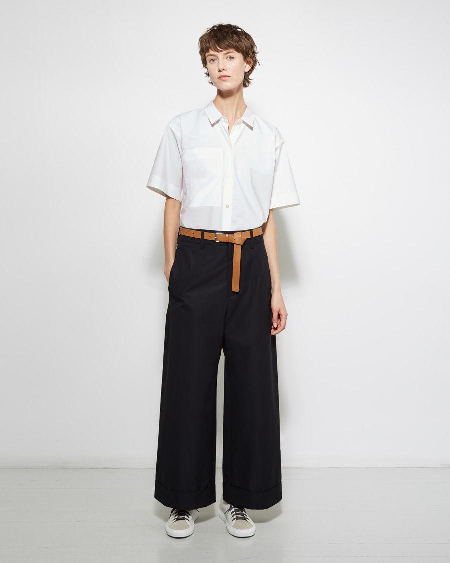 Sofie d'hoore Pastis Wide-leg Trouser in Black