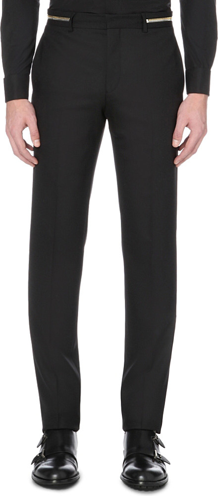 Givenchy zip detail trousers Buy Cheap Cheapest Price vqAFEDMBB4