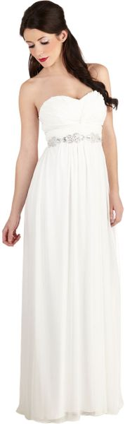 Modcloth Never Spin Better Dress in White - Lyst