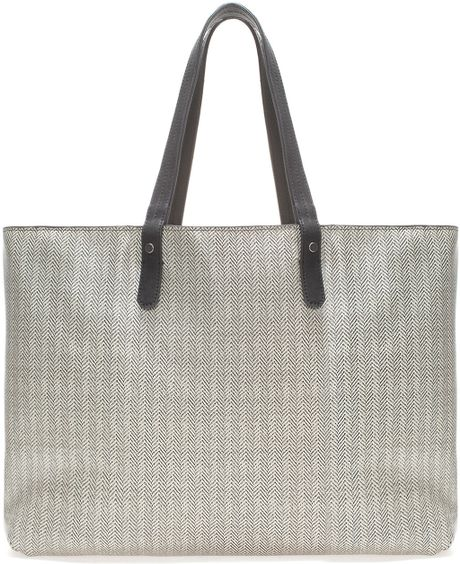 Zara Reversible Shopper Bag Zara Reversible Shopper in