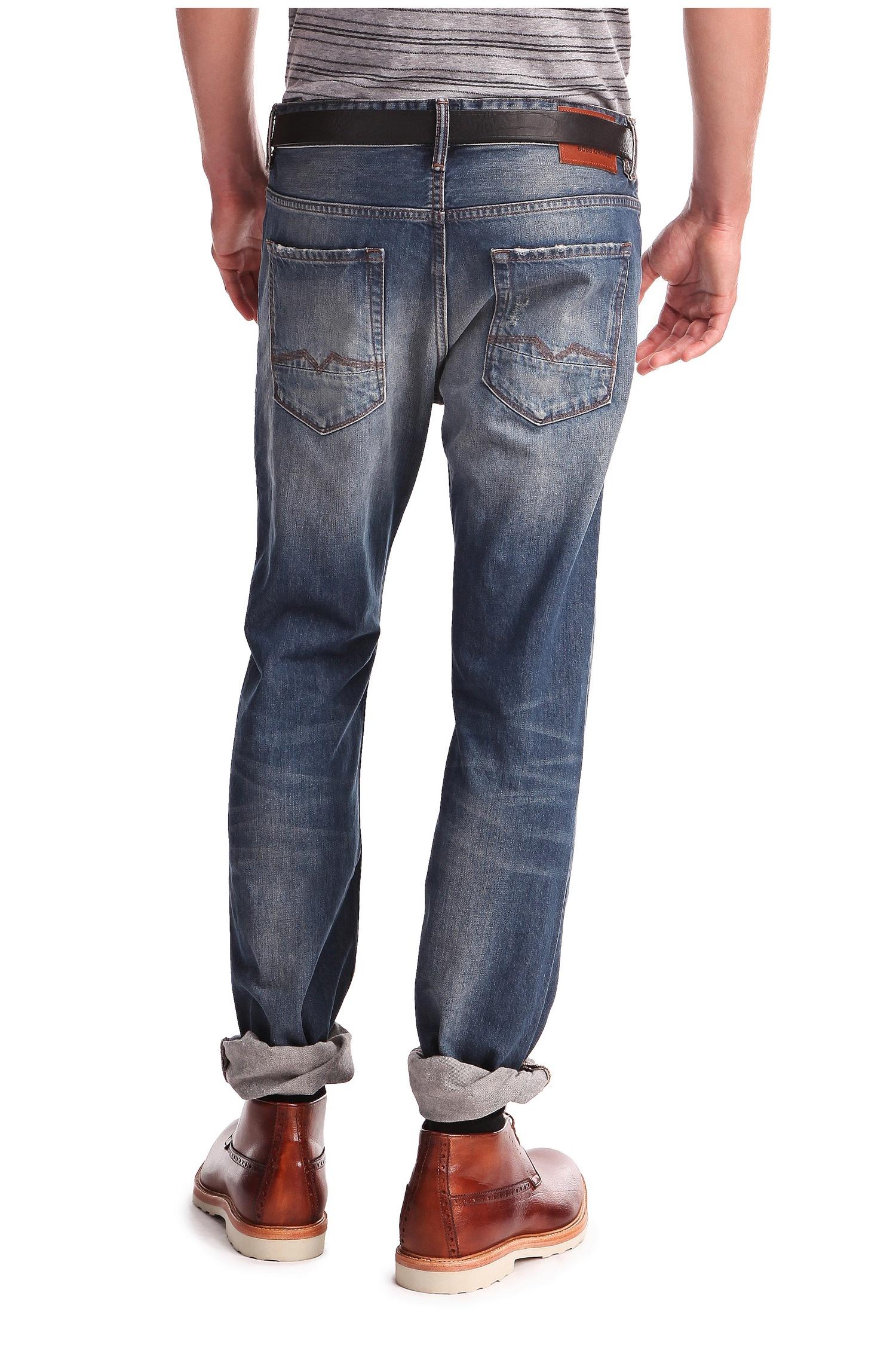 lyst boss orange regular fit jeans 39 orange90 39 in cotton. Black Bedroom Furniture Sets. Home Design Ideas