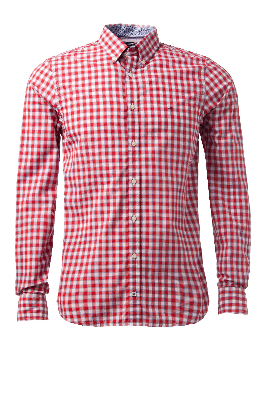Lyst Tommy Hilfiger Varick Gingham Long Sleeve Shirt In