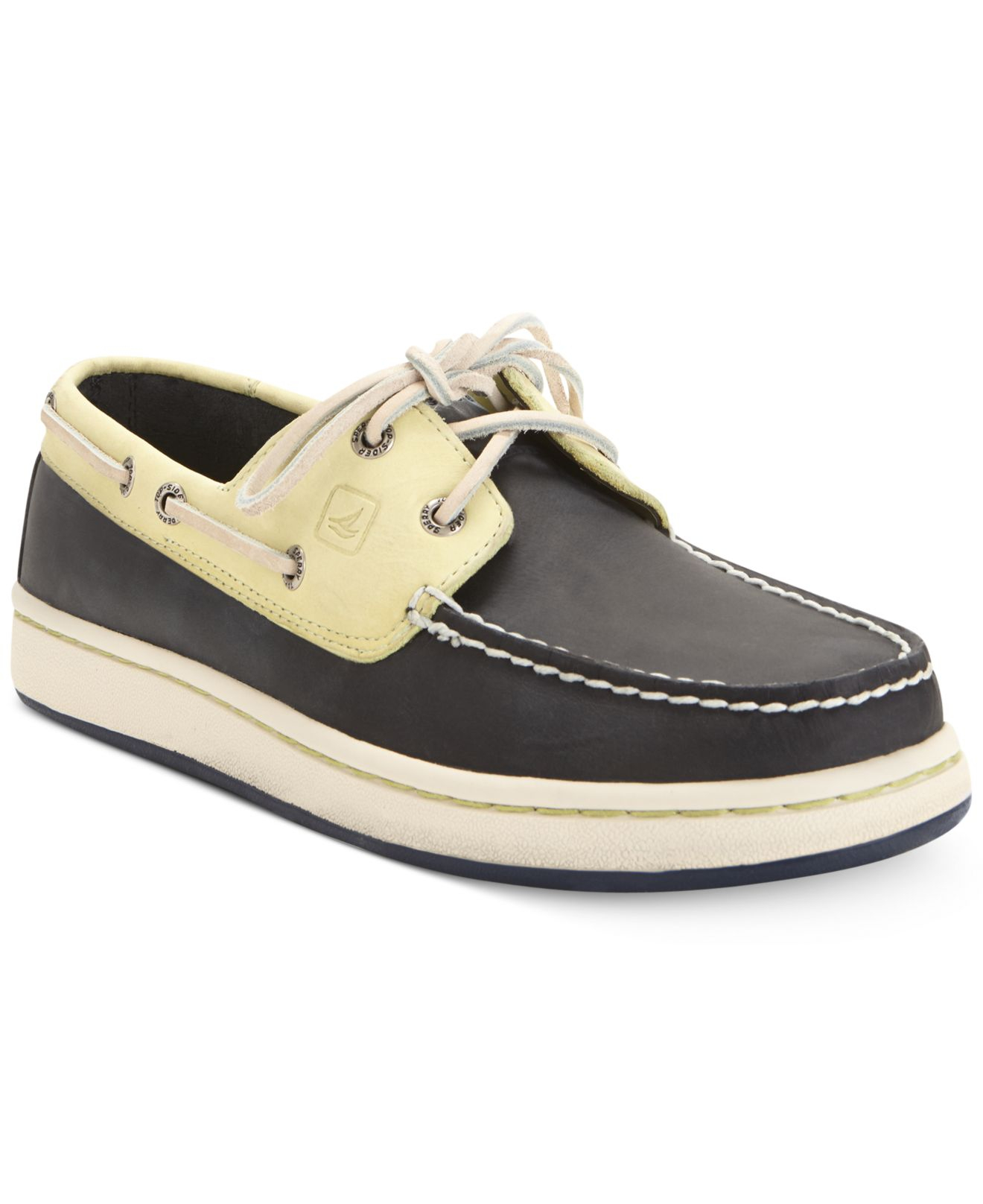 3834b672dd8 Lyst - Sperry Top-Sider Sperry Cup 2-Eye Boat Shoes in Blue for Men
