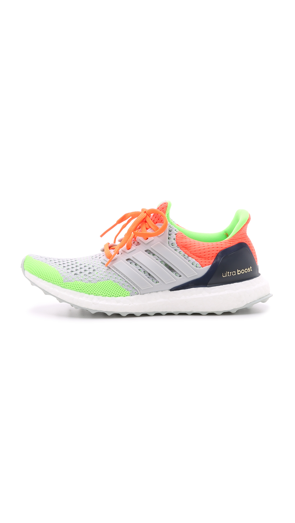 af50e3a6e5a9a adidas Ultra Boost Kolor Sneakers - Light Grey solar Orange blue in ...