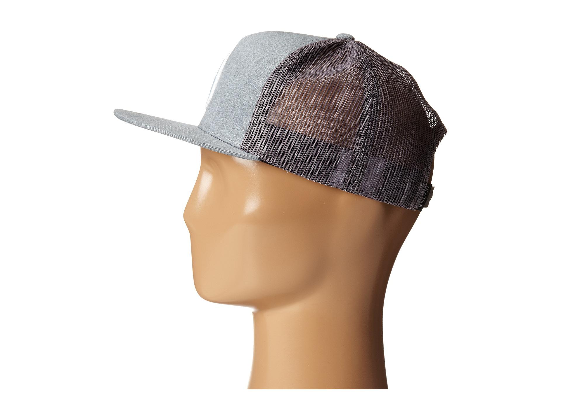 Lyst - Nixon Deep Down Trucker Hat in Gray 90b987f801c9