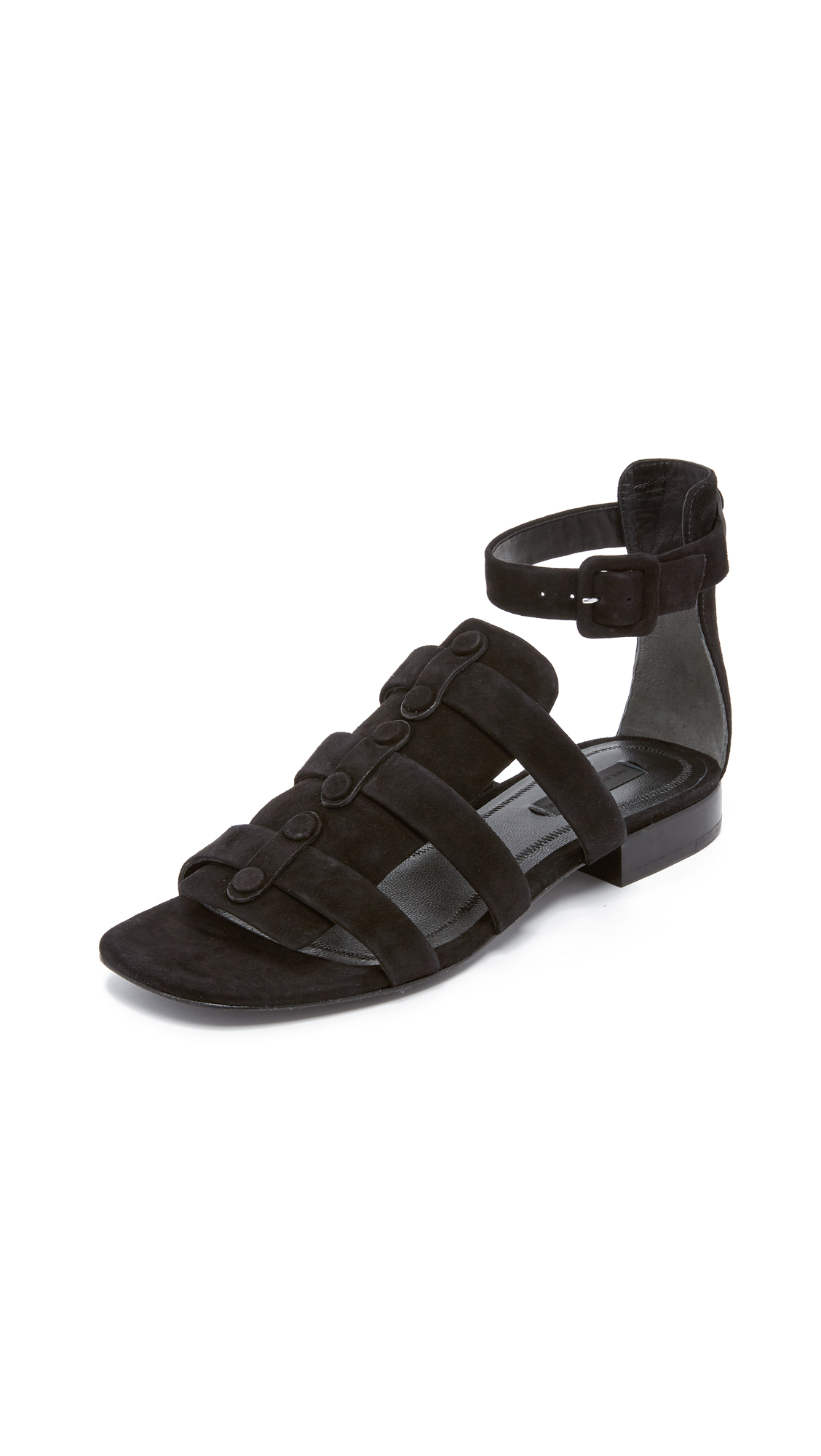 cc435ef9e12d Alexander Wang Mallory Gladiator Sandals in Black - Lyst