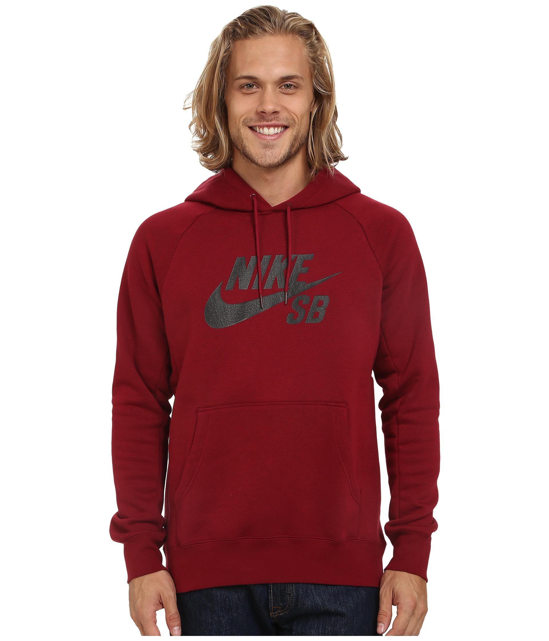 Nike SB Icon Sweat à capuche pour Homme Gris