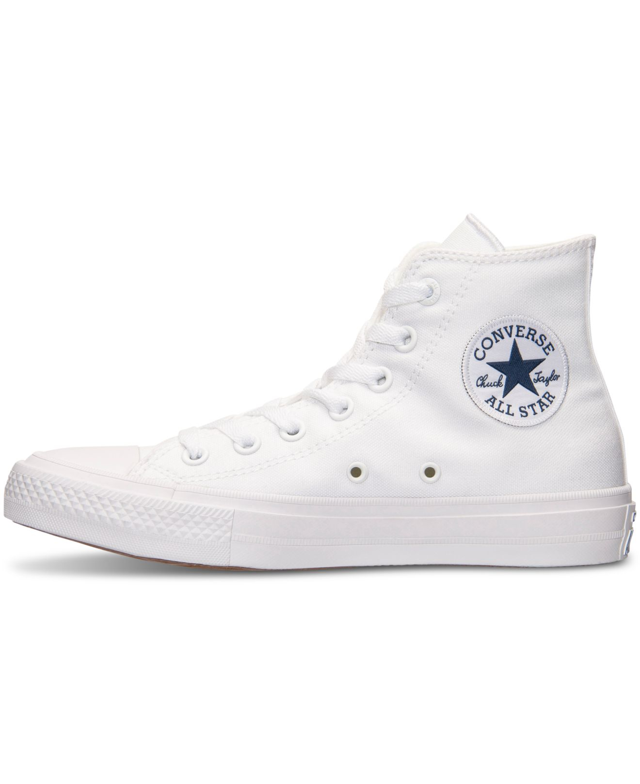 da60831f9f35d0 Lyst - Converse Women s Chuck Taylor All Star Ii Hi Casual Sneakers ...