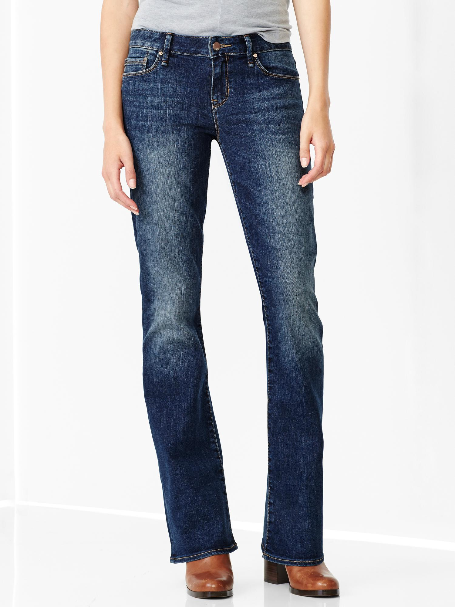Gap Authentic 1969 Perfect Boot Jeans in Blue (medium wash) - Save 50% | Lyst