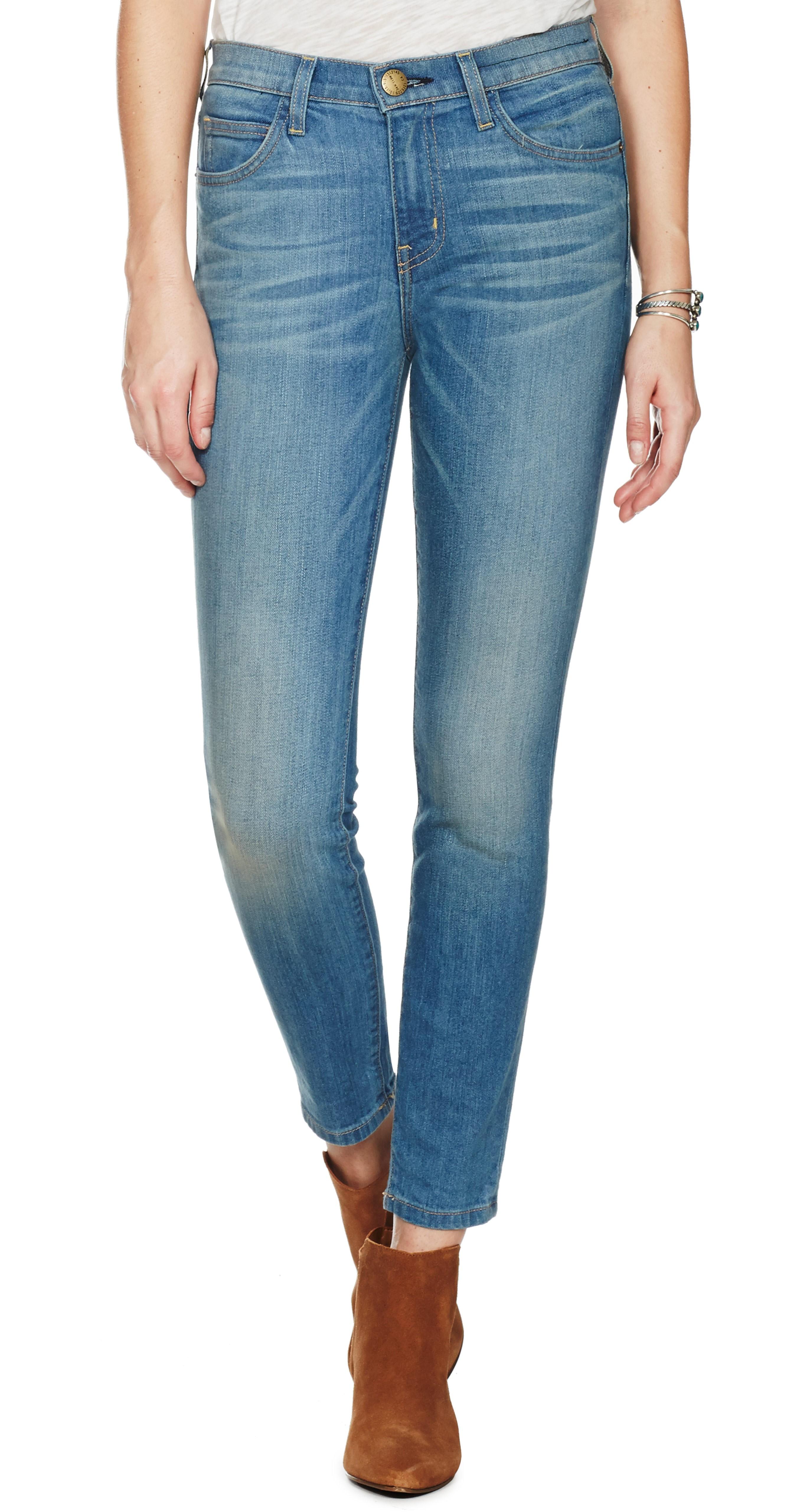 Current/elliott Woman High-rise Skinny Jeans Midnight Blue Size 24 Current Elliott Buy Cheap Marketable Q8VQQIYe