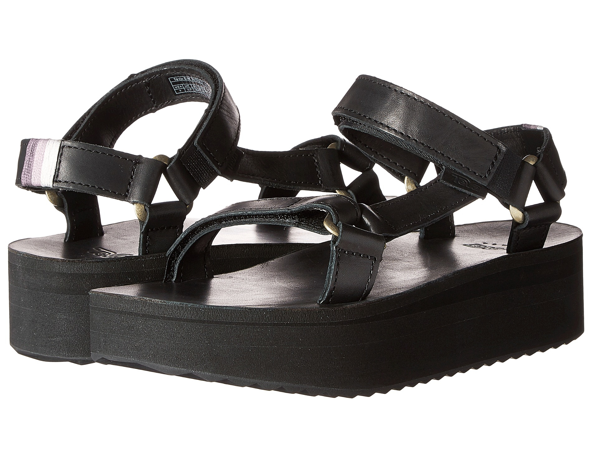 teva flatform universal crafted in black save 52 lyst