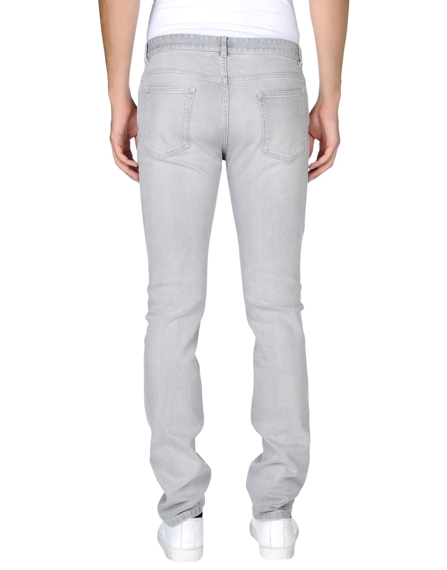 Maison margiela denim pants in gray for men lyst for 10 moulmein rise la maison