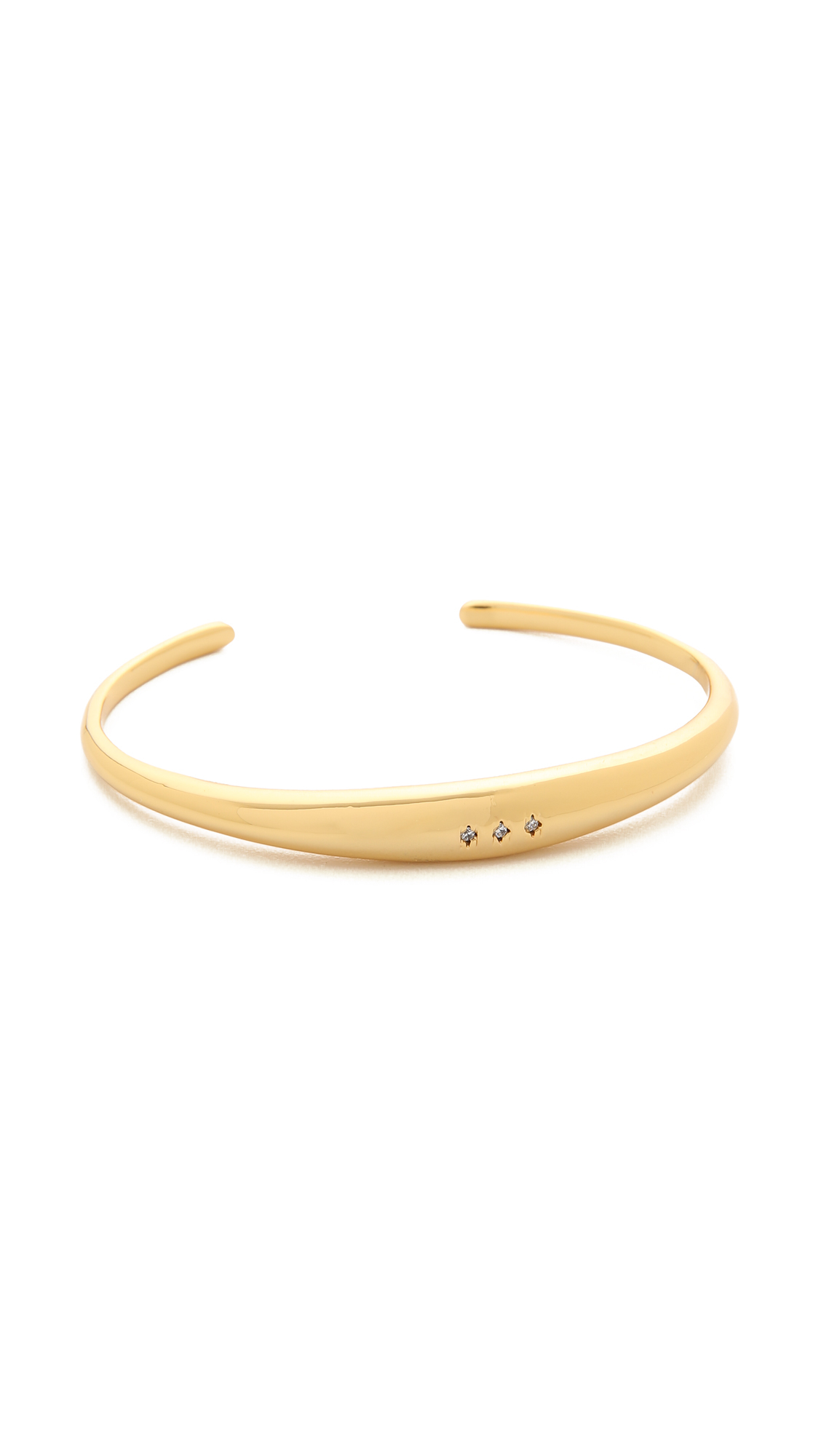 Lyst - Gorjana #wrappedup Treat Irri Cuff Bracelet - Gold in Metallic