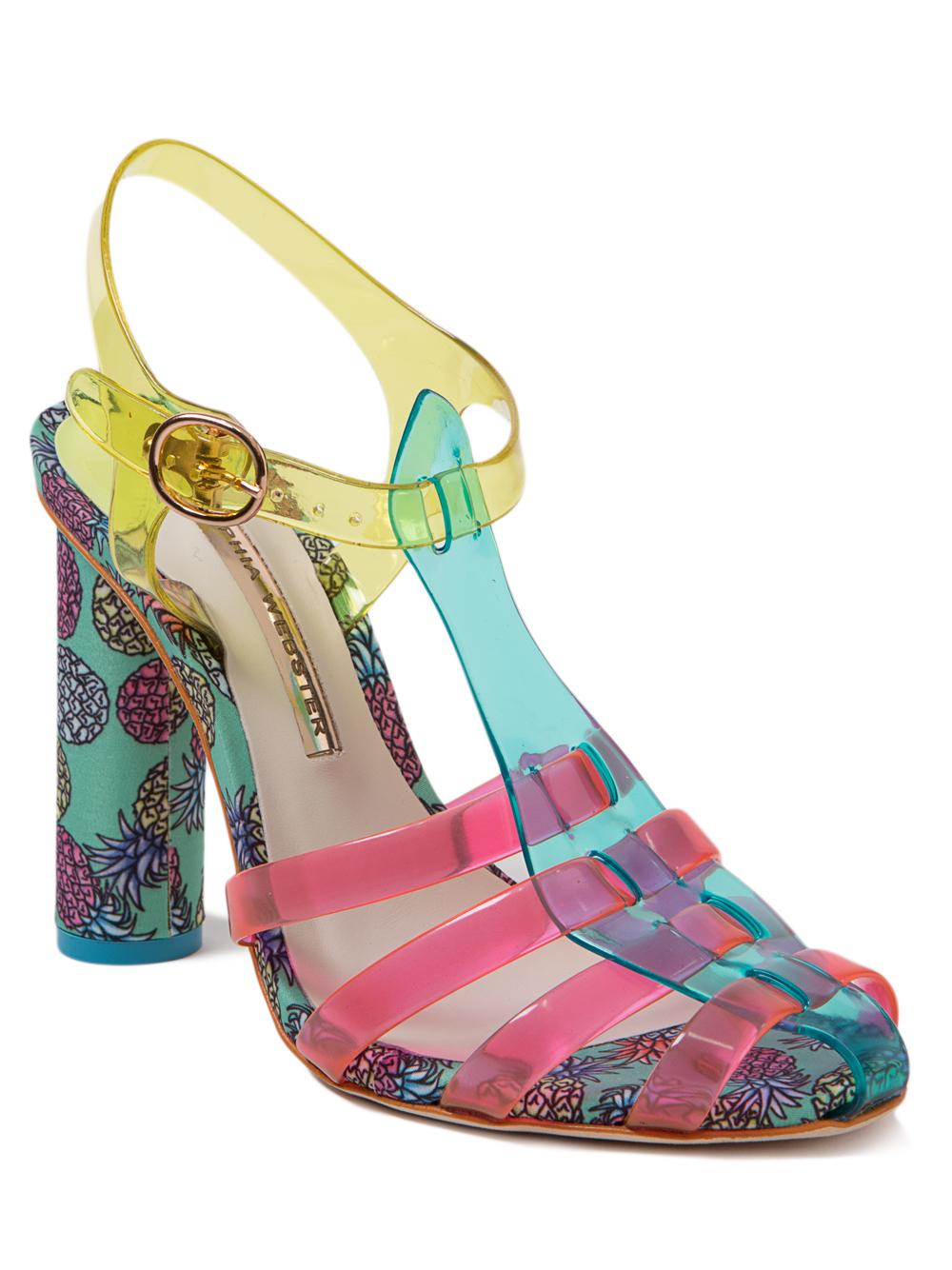 cda079a06c71 Sophia Webster Rosa Pineapple Heeled Sandals - Lyst