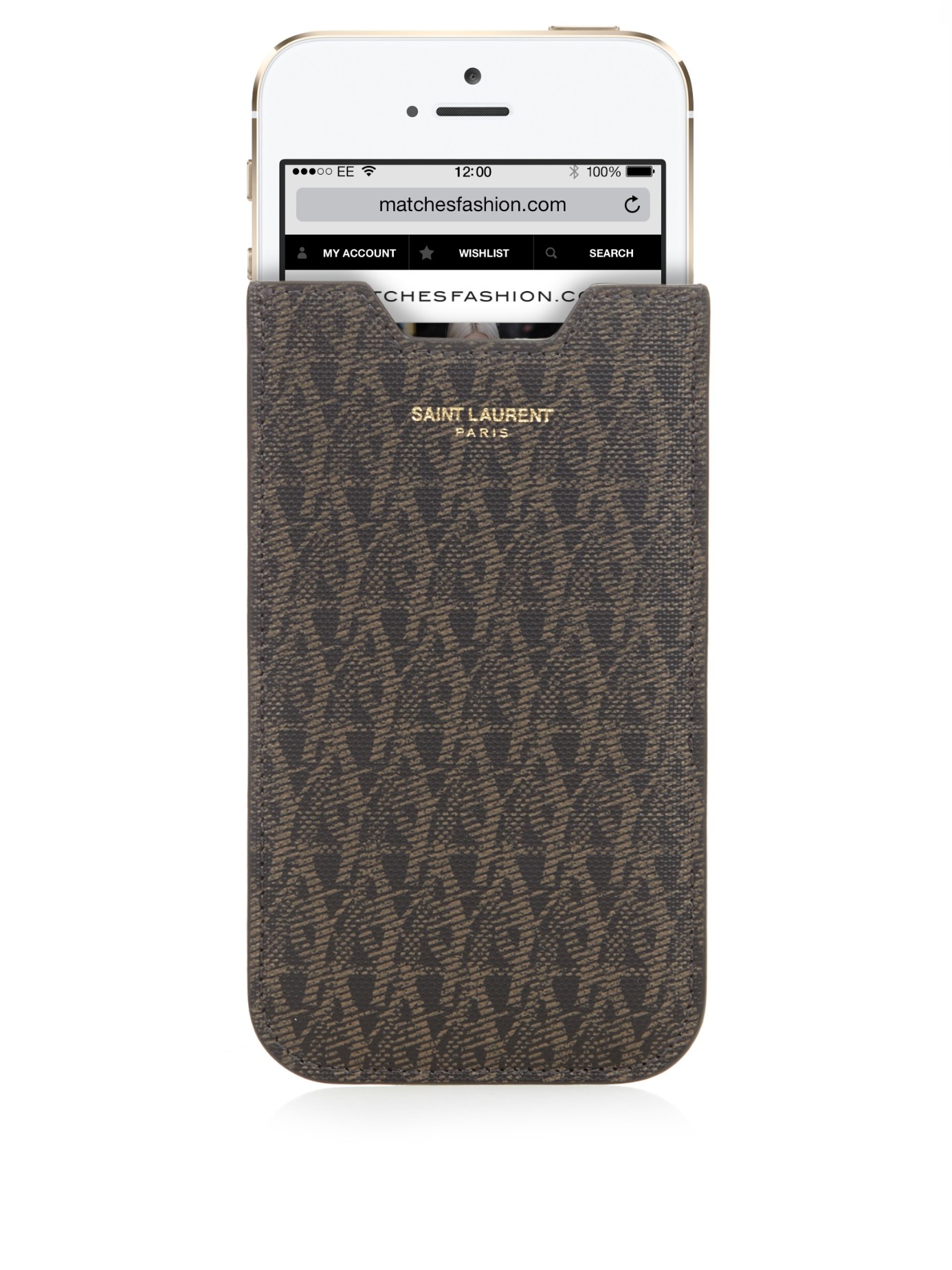 Cuir Effet Crocodile Iphone 10 Cas Saint Laurent dXrBkynCL