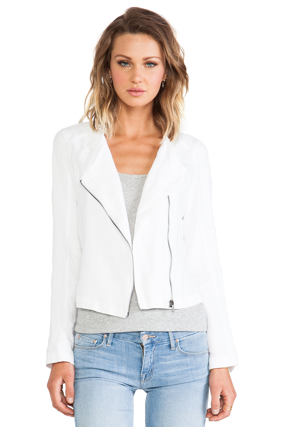 Sanctuary Summer Soft Jacket in White | Lyst