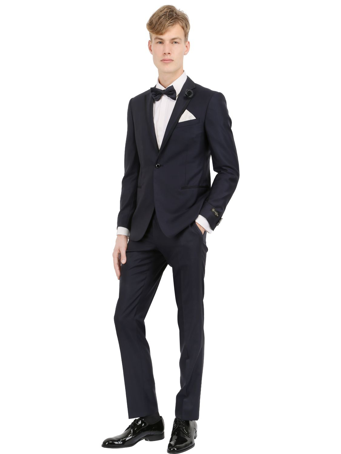 Corneliani Academy Wool & Silk Three Piece Suit in Blue for Men | Lyst