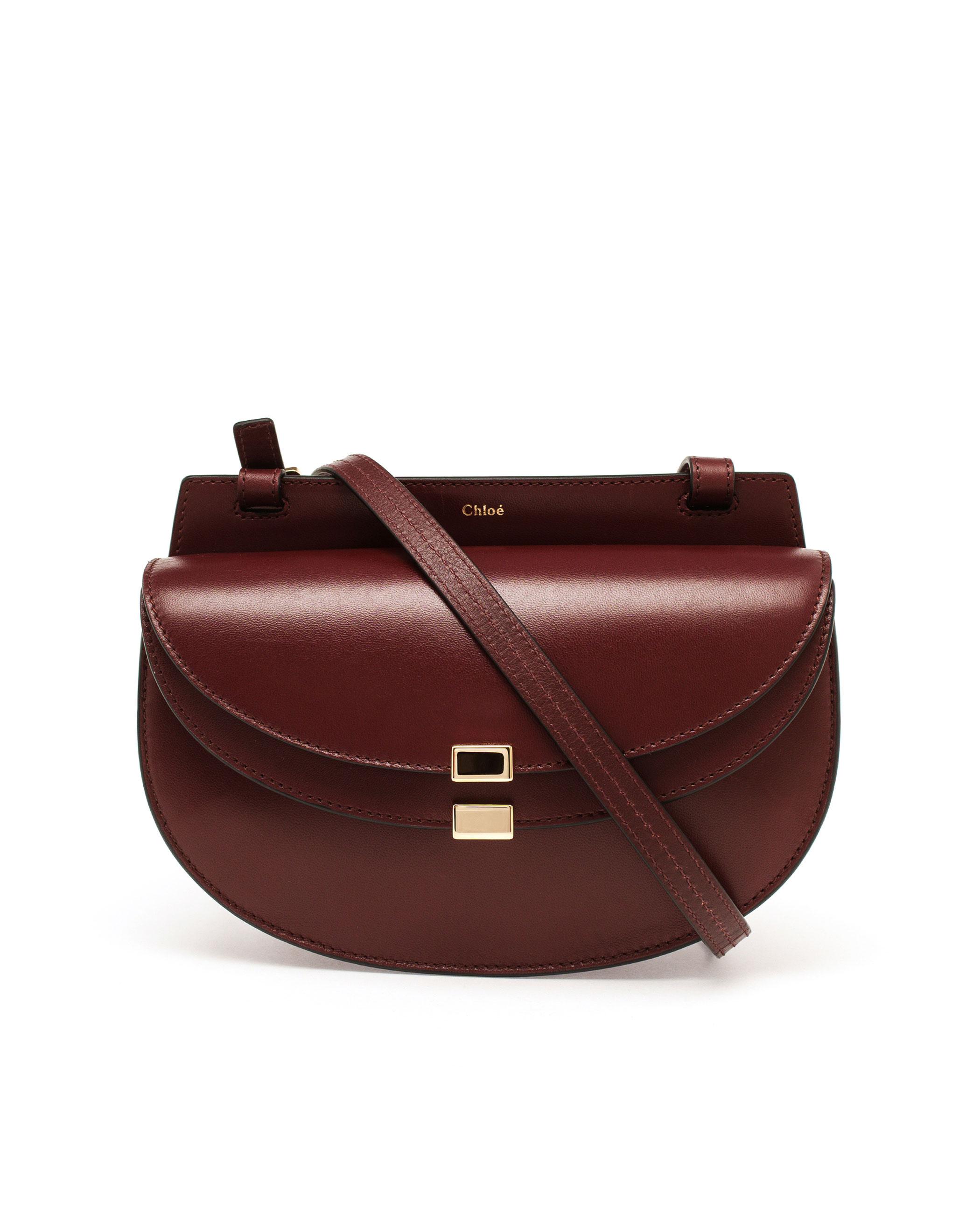 Chloé Mini Georgia Bag in Purple - Lyst 8f7054074