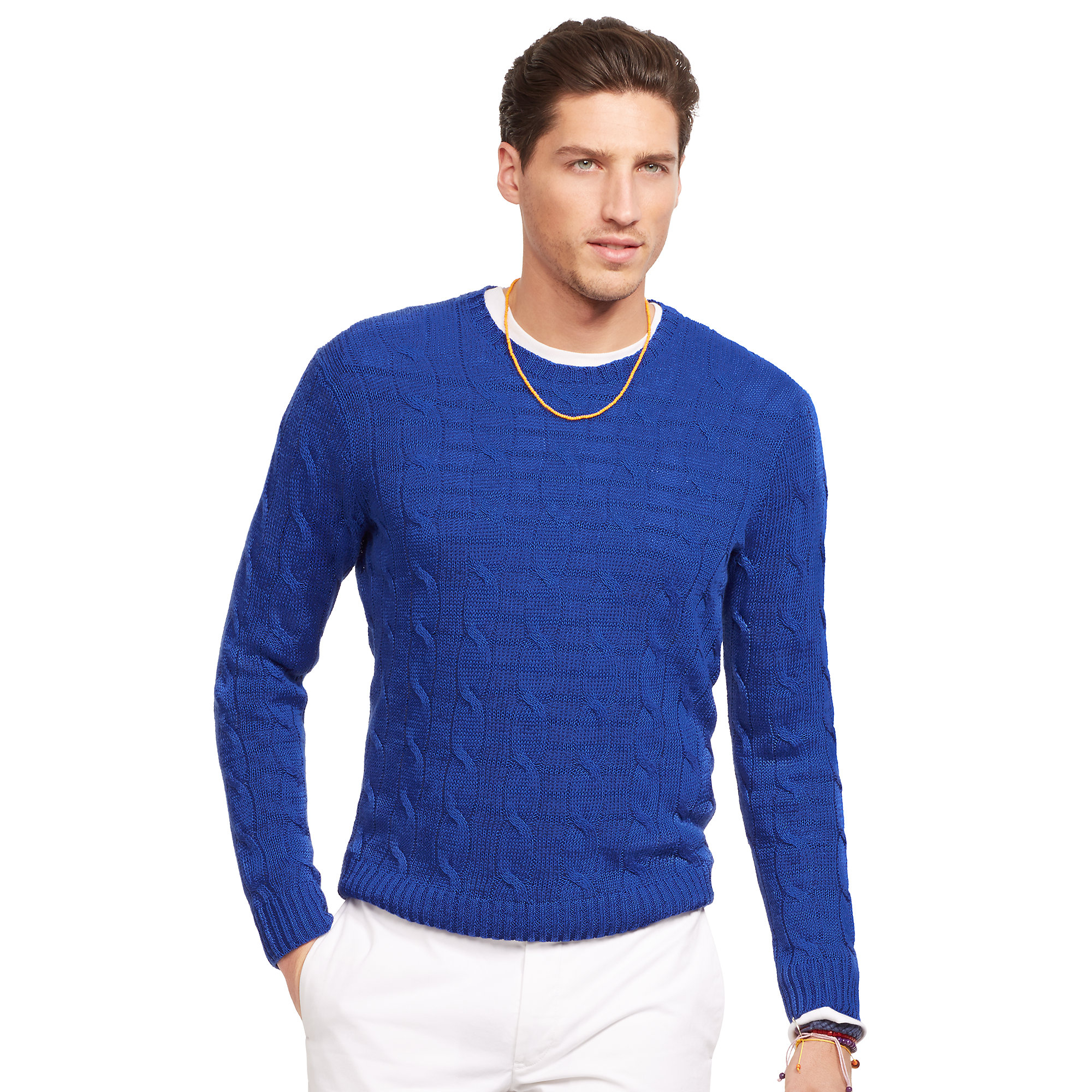 Polo Ralph Lauren Mens Cable Knit Sweater 63